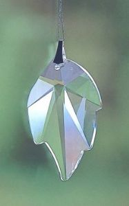 Crystal~Icicle 32 Clear Swarovski.Rainbow Hanging -A stunning array of dancing light